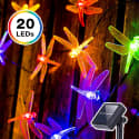 DecorNova LED Dragonfly Solar String Lights for $6 + free shipping w/ Prime