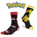 2 Pairs of Pokemon Unisex Officially Licensed Socks for $6 + free shipping