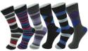 Alpine Swiss Men's Cotton Dress Socks 6-Pack for $10 + free shipping