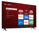 """TCL 4-Series 55"""" 4K HDR LED UHD Roku Smart TV for $318 + free shipping"""