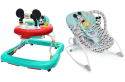 Disney Mickey Mouse Walker And Rocker Bundle for $32 + free shipping