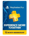 PlayStation Plus 1-Year Subscription Card for $48 + free shipping