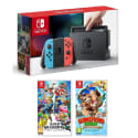 Nintendo Switch Console w/ 2 Games for $350 + free shipping