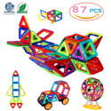 Manve 87-Piece Magnetic Blocks Toy Set for $26 + free shipping