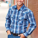 Blair Men's High Noon Snap Front Shirt for $10 + free shipping