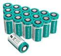 RavPower CR123A 3V Lithium Battery 16-Pack for $19 + free shipping