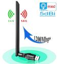 Anewkodi 802.11ac WiFi USB 3.0 Adapter for $15 + free shipping w/ Prime