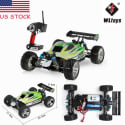 WLtoys 1:18 Scale Electric Off-Road RC Car for $58 + $7 s&h