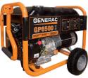 Generac GP6500 6,500W Portable Gas Generator for $779 + free shipping