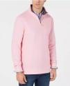 Club Room Men's Birdseye 1/4-Zip Sweatshirt for $9 + pickup at Macy's
