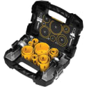 DeWalt 14-Piece Master Hole Saw Kit for $75 + free shipping