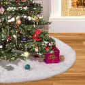 """YTL 48"""" Christmas Tree Skirt for $18 + free shipping"""