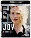 Joy on 4K UHD Blu-ray / Blu-ray / Digital HD for $5 + pickup at Fry's
