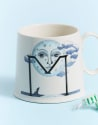 Anthropologie Animal Alphabet Monogram Mug for $5 + free shipping