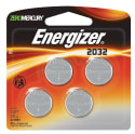 Energizer 2032 3V Lithium Coin Battery 4-Pack for $2 + free shipping