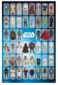 Star Wars Toy Figure Collage Poster for $6 + free shipping