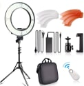 "Fositan 18"" LED Ring Light Kit for $82 + free shipping"