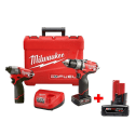 Milwaukee M12 Fuel 2-Tool 3-Battery Combo Kit for $199 + free shipping