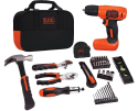 Black + Decker Drill Project Kit for $40 + free shipping