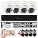 KKmoon 4-Ch. 4-Camera DVR Security System for $66 + free shipping