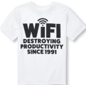 The Children's Place Boys' 'WiFi' T-Shirt for $2 + free shipping