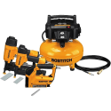 Bostitch 3-Tool and Compressor Combo Kit for $199 + free shipping