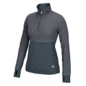 adidas Women's Climalite Half-Zip Pullover for $18 + free shipping