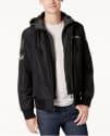American Rag Men's Hooded Bomber Jacket for $36 + free s&h w/beauty item