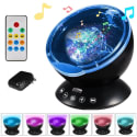 LBell Remote Control Ocean Wave Projector for $18 + free shipping w/ Prime