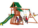 Backyard Discovery Tucson Wooden Swing Set for $399 + pickup at Walmart