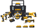 DeWalt Cordless 7-Tool Combo Kit for $499 + free shipping