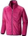 Columbia Girls' Pearl Plush Full Zip Jacket for $28 + free shipping