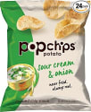 Popchips Potato Chips 24-Pack for $15 + free shipping