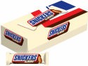 24 Snickers Almond Chocolate Candy Bars for $11 + free shipping