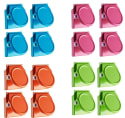 Pengxiaomei Magnetic Metal Clip 16-Pack for $7 + free shipping w/ Prime