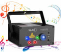 Suny Laser Light Show Stage Projector for $58 + free shipping