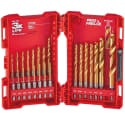 23 Milwaukee Shockwave Titanium Drill Bits for $20 + pickup at Home Depot