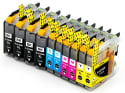 Galada Brother Compatible Ink Cartridges 10Pk for $12 + free shipping w/ Prime