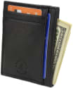 Hammer Anvil Leather Anti-Theft Wallet for $9 + free shipping