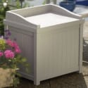 2 Suncast 22-Gallon Storage Seat Boxes for $40 + free shipping