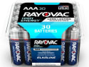 Rayovac Alkaline AAA Battery 30-Pack for $5 + pickup at Home Depot
