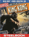 King Kong Steelbook Ed. on Blu-ray for $6 + pickup at Best Buy