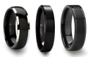 Black Tungsten Rings at Larson Jewelers: 25% off + free shipping