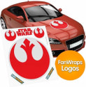 Fan Wraps Star Wars Vinyl Decal for $2 + pickup at Best Buy