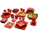 10 Strawberry St. Nova 45-Piece Banquet Set for $60 + free shipping
