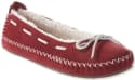 L.L.Bean Women's Hearthside Moccasin Slippers for $40 + free shipping