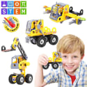 Stem Learning 3-in-1 Construction Set for $9 + free shipping w/ Prime