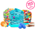 """""""Sour Pucker-Up"""" or """"Mixed Treats"""" Candy Box for $30 + free shipping"""