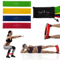 Workout Rubber Band & Carry Case Set for $7 + free shipping
