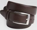 Men's Wearhouse Men's Leather Dress Belt for $5 + free shipping